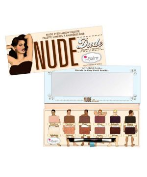 Paleta de Sombras The Balm Nude Dude