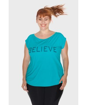 Blusa Believe Plus Size