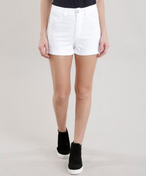 Short Hot Pant Branco