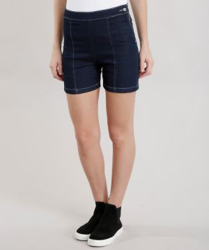 Short Hot Pant Azul Escuro