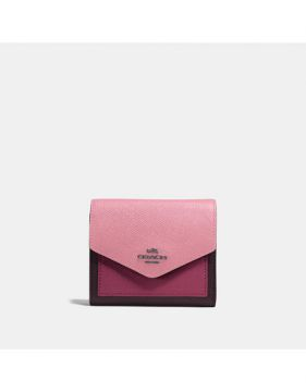 Carteira Small Wallet Coach - Rosa