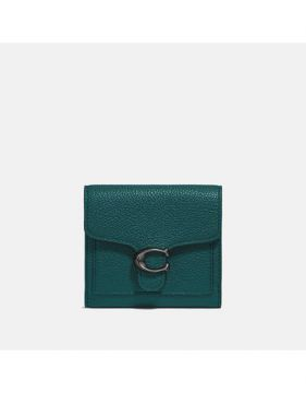 Carteira Tabby Small Wallet Coach - Verde