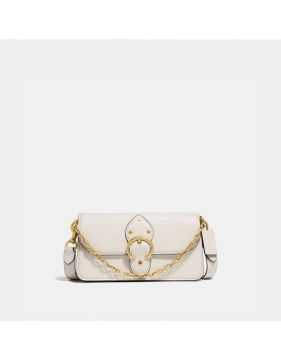 Bolsa Beat Crossbody Clutch Coach - Branco