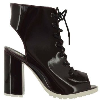 Ankle Boot Sandal Jaya Pull Up Bordo   - DiCristalli