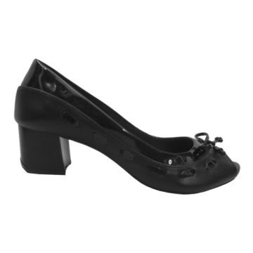 Peep Toe Marlinês 6053 Preto