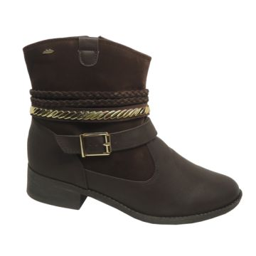 Bota Cano Curto Dakota B8412I Ankle Boot