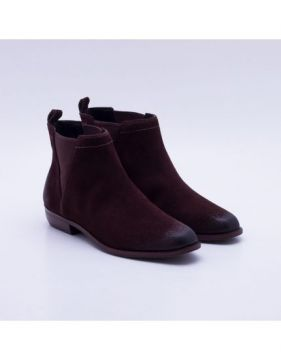 Ankle Boot Couro Marrom - Dumond