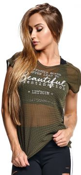 Blusa Beautiful Verde Militar