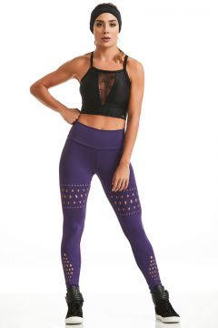 Calça Legging NZ Strength Roxa