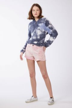 Short Box Basic Rasgos 80s Pink - Animale Jeans