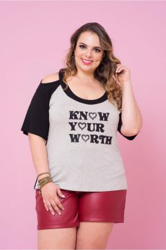 Blusa Plus Size Worth