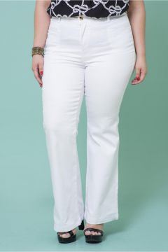 Calça Plus Size Bardot Boot Cut