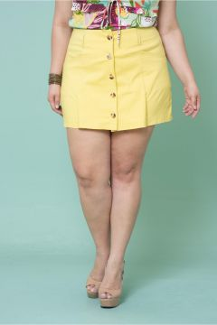 Short Saia Plus Size Colatina