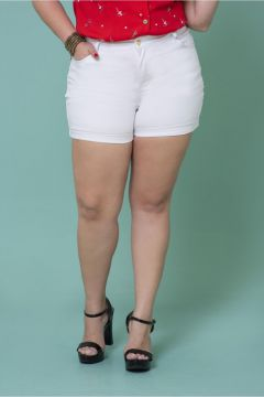 Short Plus Size Bardot