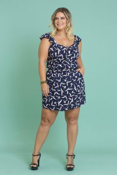 Short Saia Plus Size Texas