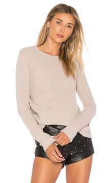 Reversible Crossover Sweater Autumn Cashmere