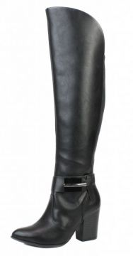 Bota Over the Knee Ramarim Naturale Plus Preto