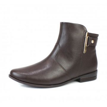 Bota Rasteira Ramarim Naturale Plus Brown