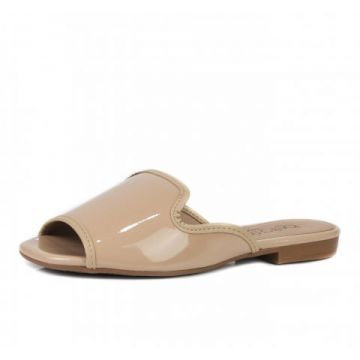 Tamanco Loafer Beira Rio Bege