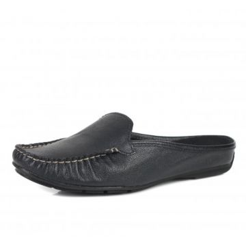 Tamanco Loafer Bottero Caprino Preto