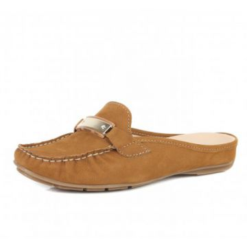Tamanco Loafer Bottero Sanremo Caramelo