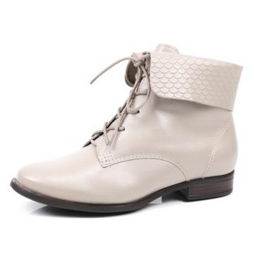 Bota Bottero Coturno Escamas Off White