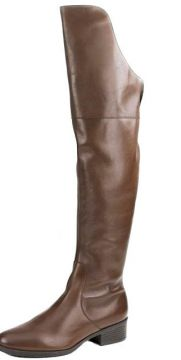 Bota Arezzo Over the Knee Marrom