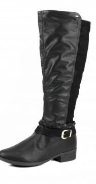 Bota Dakota Over The Knee Preto