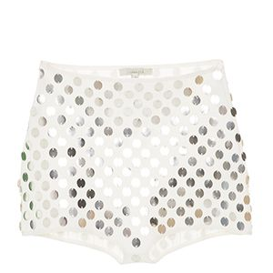 Short Hot Pants Adler Off White Rosa Chá