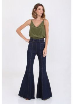 Calca Flare Jeans Anne I20 - Mixed