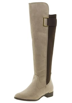 Bota Feminina Over Knee Gengibre Via Marte - 167202