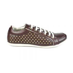 Sapatenis Feminino Milano Bordo/Ouro Light 7706