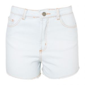 Short jeans bordados pássaros