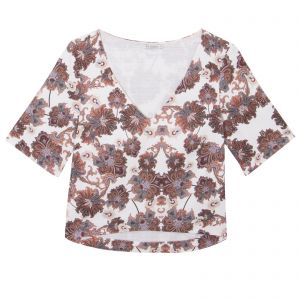 Blusa cropped Doroty Le Lis Blanc