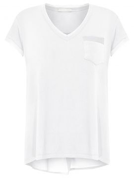 Blusa Mix Tecidos Versace - Off White - Canal