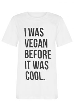 T-shirt Vegan T-shirt Factory - Branco