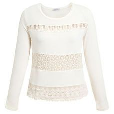 Blusa Eclectic Guipure - Off White