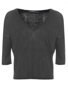 Blusa Bia - Preto - Vi And Co.