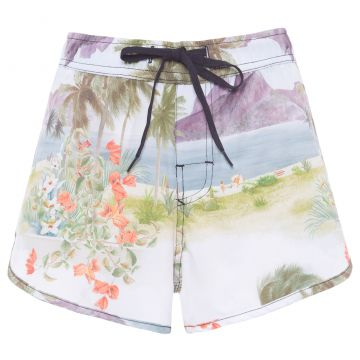 Short Beach Rj Color - Off White - Osklen
