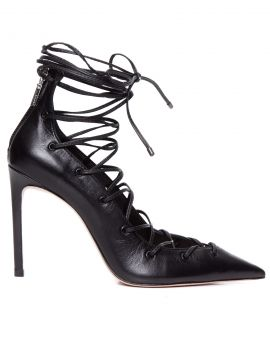 Scarpin Lace Up Fetish - Preto - Schutz