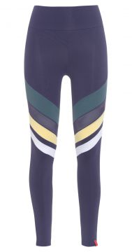 Calça Legging Listra Tule - Azul - Body For Sure