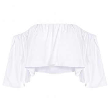 Blusa Top Babados - Off White - Canal