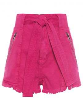 Short Clochard Pala Cinto - Rosa - Animale Jeans