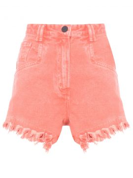 Short Box Rock Franja - Laranja - Animale Jeans