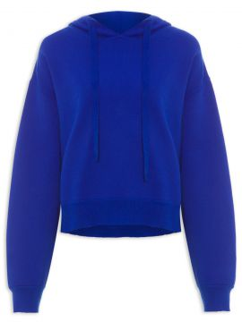 Blusa Moletom Hamptons - Azul - Helena Bordon Essentials