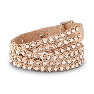 Pulseira Power Collection Slake - Rosa - Swarovski