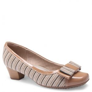Scarpin Piccadilly BEGE/TAN
