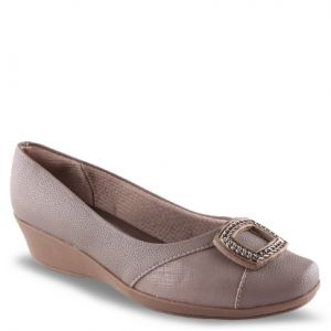 Scarpin Piccadilly TAUPE