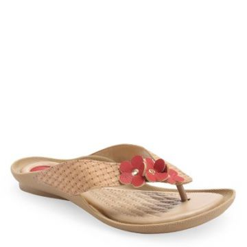 Chinelo Tchocco CUOIO/ROSSO