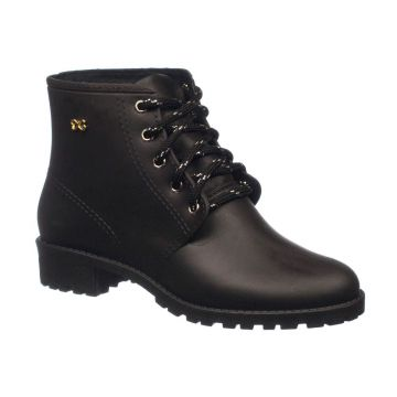 Bota World Colors Coturno Galocha Preto LALI 038.004